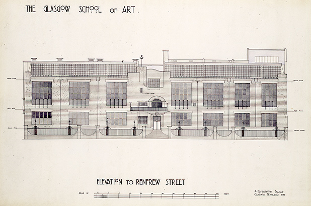Play School Front Elevation : The lighthouse glasgow facts about mackintosh